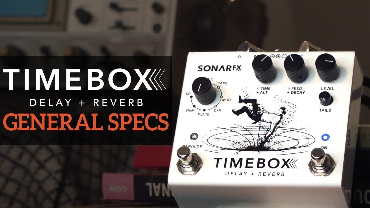 SonAr fx - Timebox Delay + Reverb - General Specs