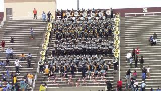 Alabama A&M University Band 2014 vs Southern University - Fifth Quarter