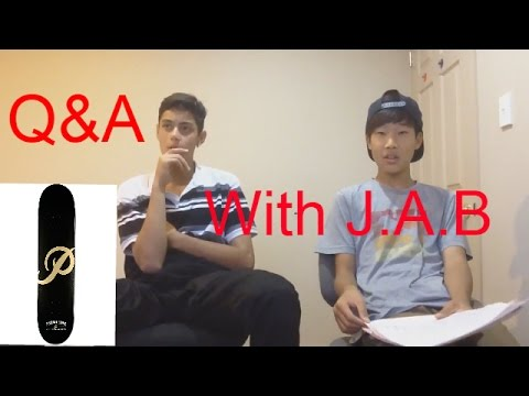 Q&A with J.A.B ( everything you need to know)