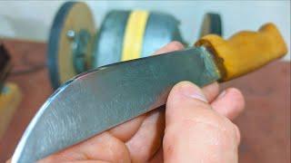 Самый быстрый способ заточить нож до бритвенной остроты