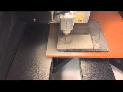 Fabrication of deformation assembly using a milling machine
