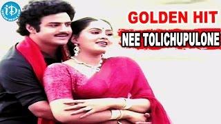 Nippulanti Manishi Golden Hit Song || Nee Tolichupulone Song || Balakrishna || Radha