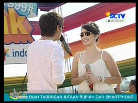 Ussy feat. Andhika - Ku Pilih Hatimu,performed di INBOX (16/04)(Courtesy SCTV)