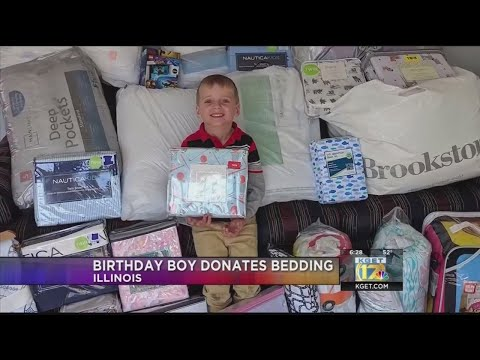 The Morning Rush - Boy uses his 5th birthday to help others
