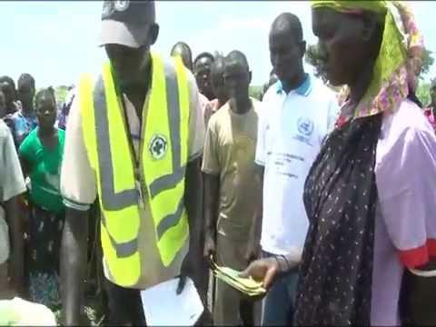Humanitarian need in South Sudan