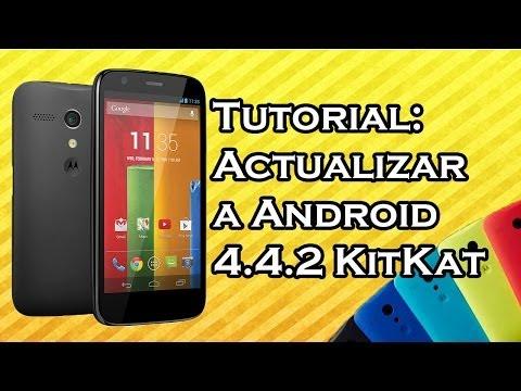 VideoTutorial | Actualizar a KitKat 4.4.2 Motorola Moto G HD