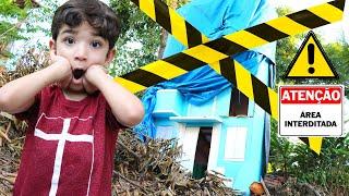 DESASTRE! Caiu uma árvore no Prédio azul do Lucas | Detetives do predio azul | DPA 2 o filme | DPA 3