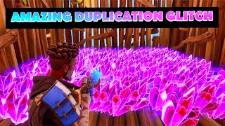 *AMAZING* INSANE JULY DUPLICATION GLITCH FORTNITE SAVE THE WORLD