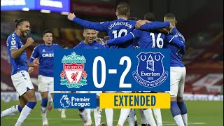 EXTENDED HIGHLIGHTS: LIVERPOOL 0-2 EVERTON