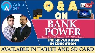 Q & A on Bank Power - The Revolution in education