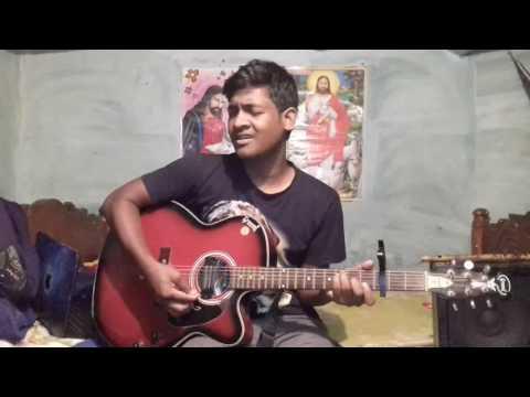 Guitar lesson in santali