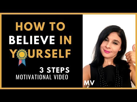 How to Believe in Yourself Like Beyonce- 3 Steps | Motivational Video 2019