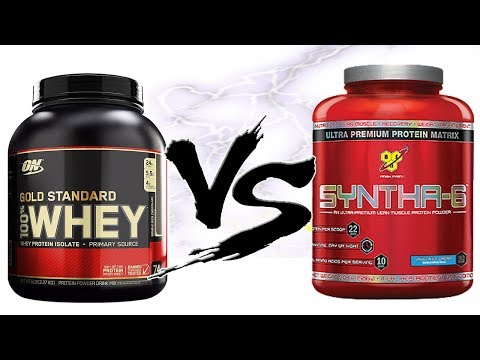 Какой протеин лучше Gold Standard Whey Protein Vs Syntha-6