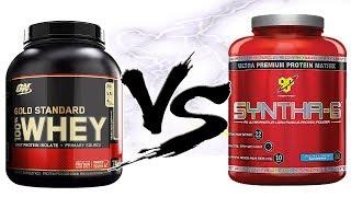 Какой протеин лучше gold standard whey protein vs syntha-6