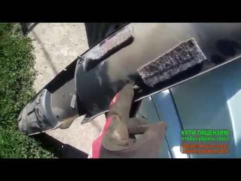 Замена замка крышки багажника ваз2114