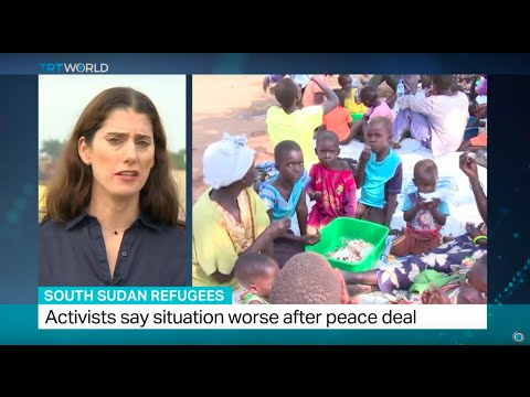 South Sudan Refugees: Renewed fighting forces more people to flee, Zeina Awad reports