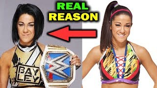Real Reasons Why Bayley Changed Her Look & Won SmackDown Women