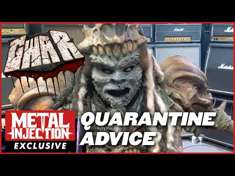 GWAR Hope to Eventually Give Humans COVID-20, Offer Quarantine Advice | Metal Injection