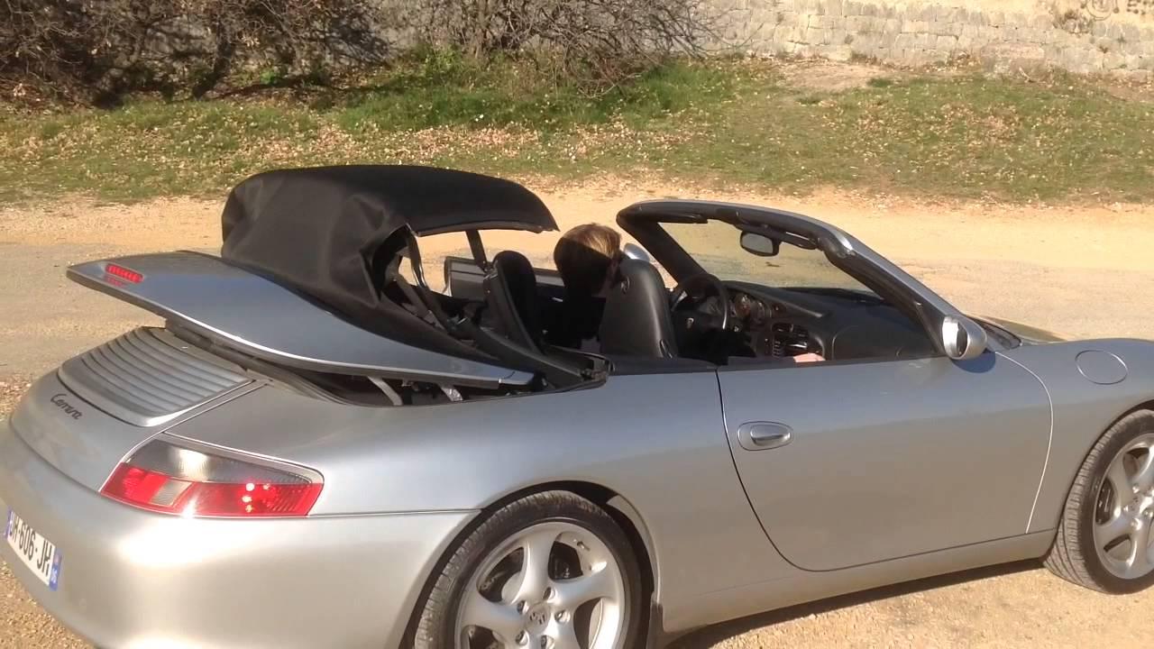 porsche 911 vendre 996 carrera 3 6 cabriolet youtube. Black Bedroom Furniture Sets. Home Design Ideas