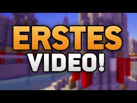 Mein ERSTES VIDEO