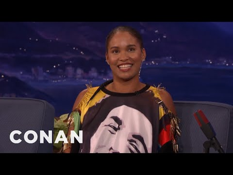 Joy Bryant Lost Her Virginity Across From Her Honorary Street Sign In The Bronx   CONAN on TBS