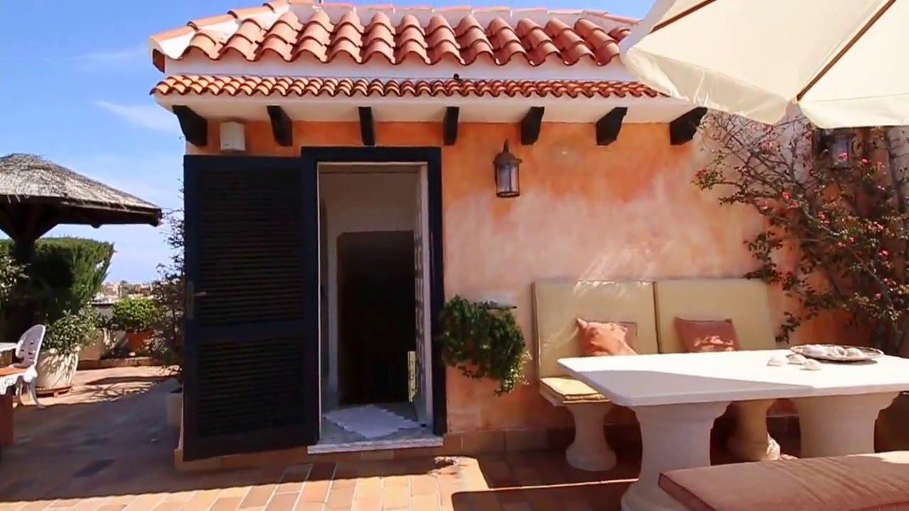 Denia penthouse a2223 jardin en terraza azotea youtube for Terrazas rusticas en azoteas