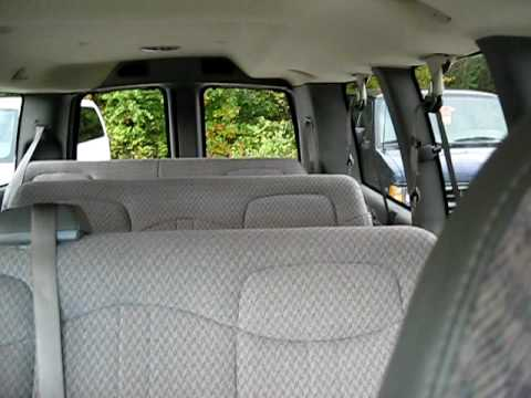 Chevy Express Van >> 2007 Chevrolet Express 12 Passenger Van - YouTube