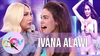 Download lagu Vice feels insecure of Ivana Alawi | GGV