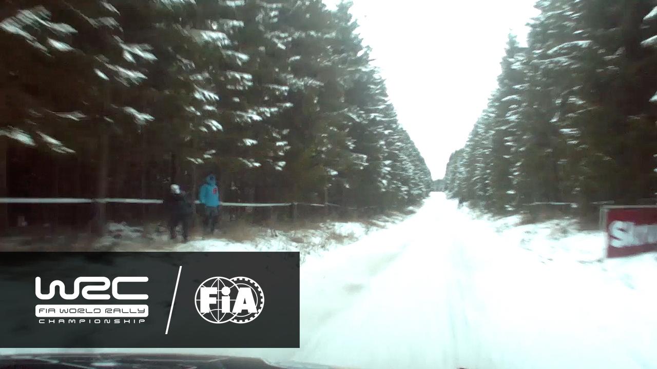 WRC - Rally Sweden 2017: ONBOARD Østberg