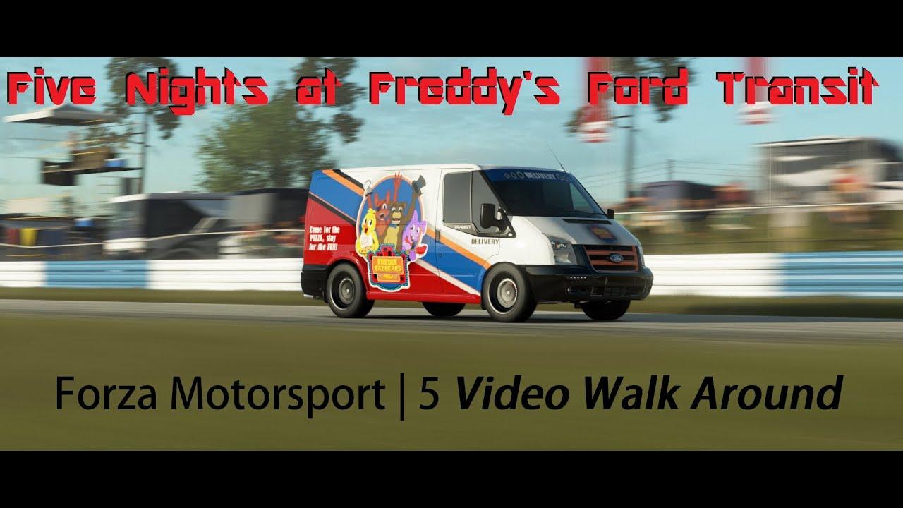 Forza motorsport 5 fnaf pizza delivery van youtube