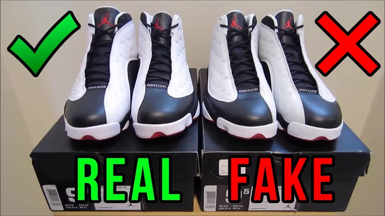 on sale 8ff7e 34e58 Jordan 13 He Got Game Authentic Vs. Fake from eBay