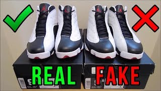 Jordan 13 He Got Game Authentic Vs. Fake from eBay