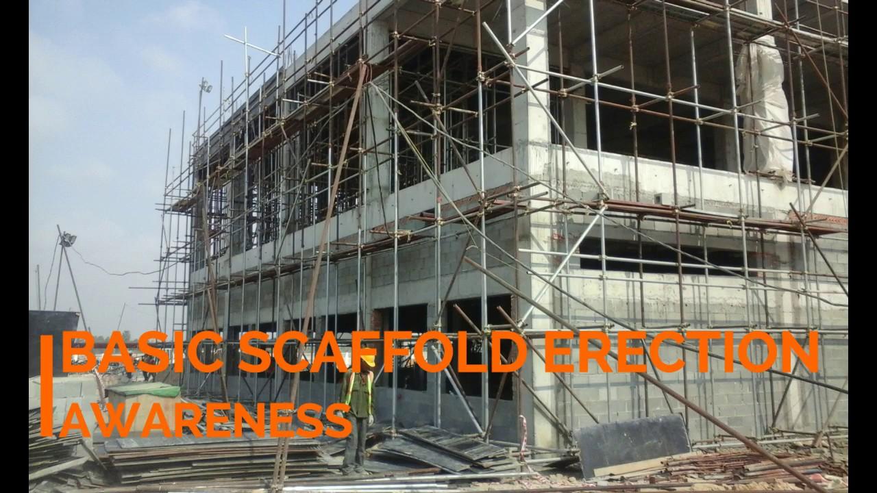Scaffolding Erecting Procedure : Basic scaffolding erection procedure youtube