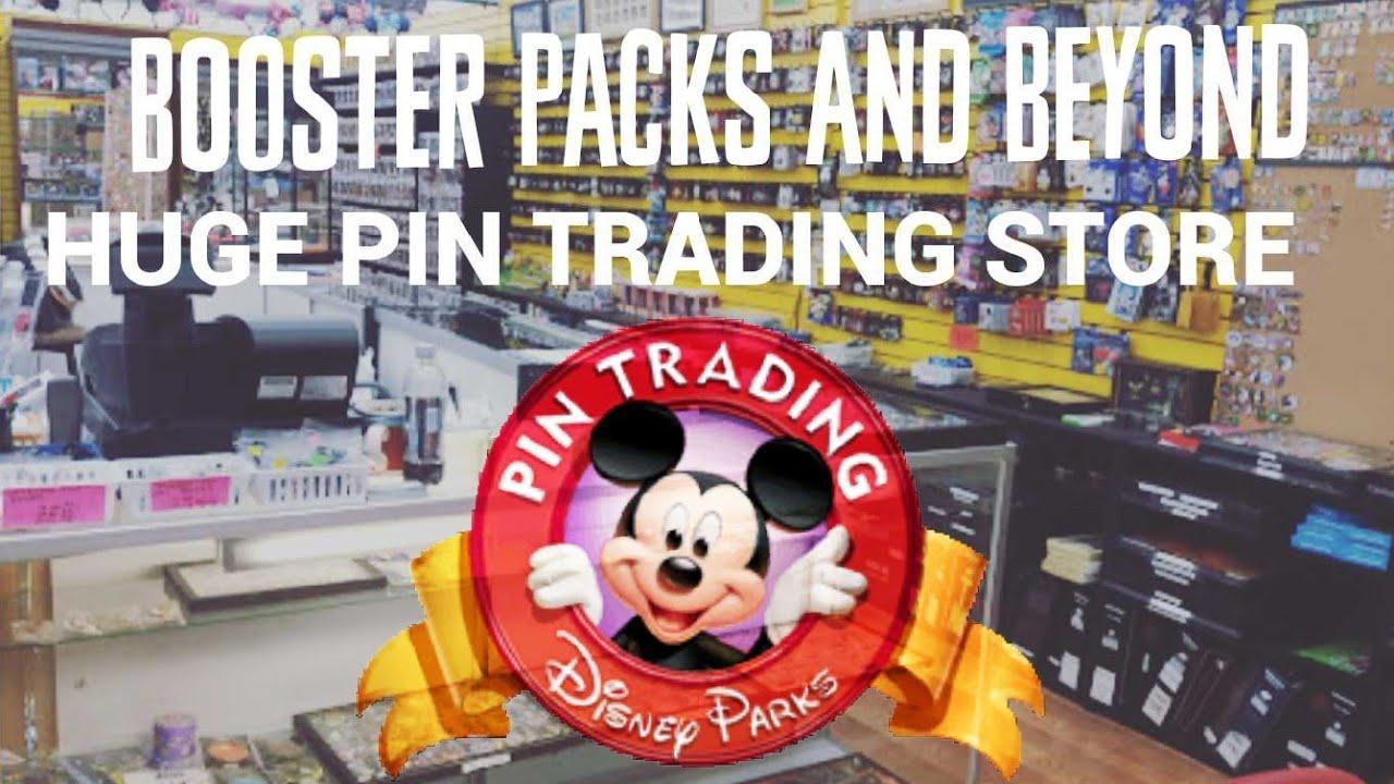 DISNEY PIN TRADING SHOP! Booster Packs & Beyond!