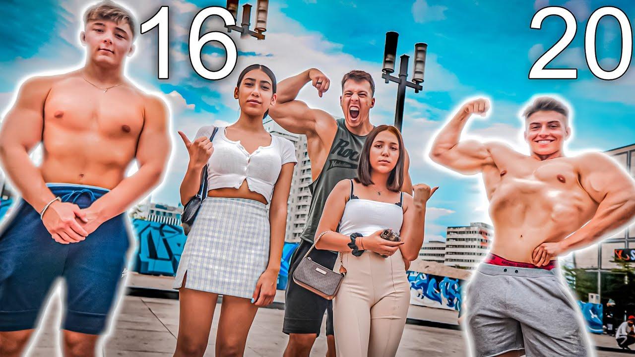 Welcher MASSE Körper kommt besser bei Frauen an? Manuel Haas (16) vs Johny (20)
