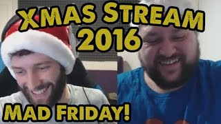 MAD FRIDAY! - Xmas Charity Stream 2016 - Part 3 - WoT Console