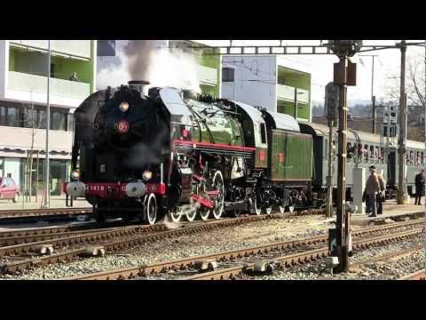 [HD] SNCF Mikado 141.R.1244 --- Steam Adventure Tours Mikado-Schnellzug