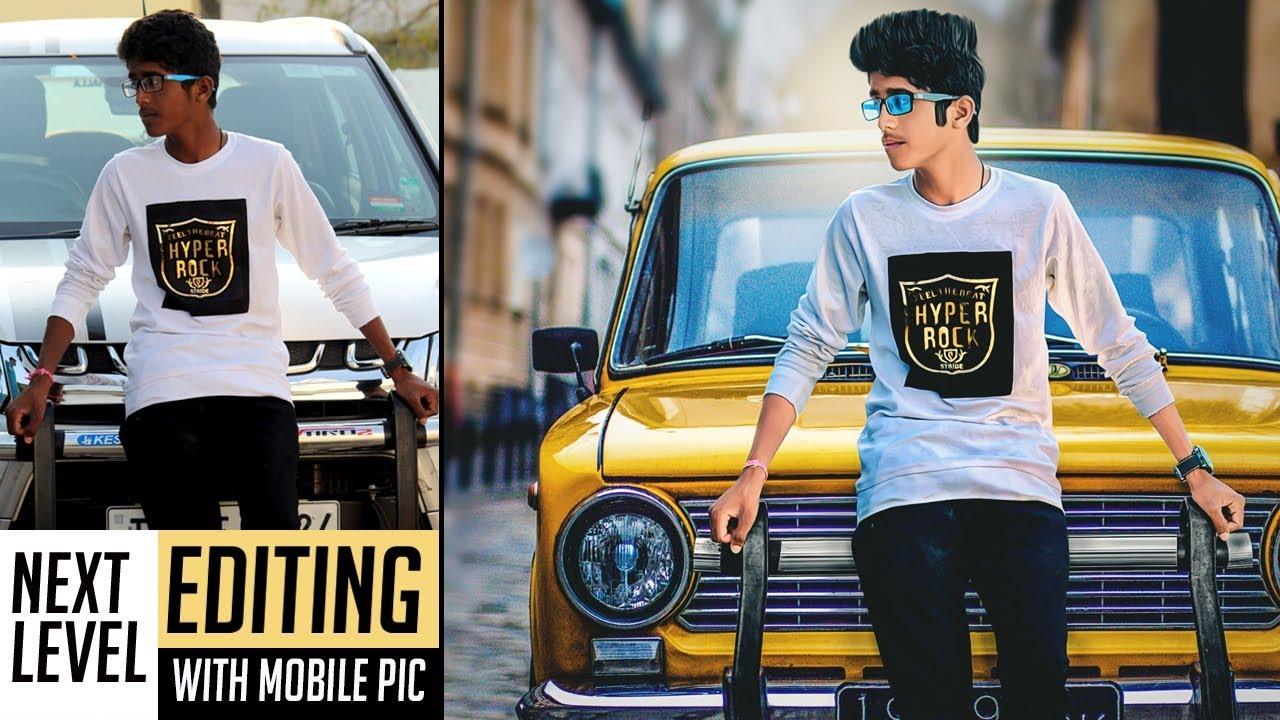 Next Level Editing with Mobile photo   Photoshop Tutorial   Photo Manipulation   2018