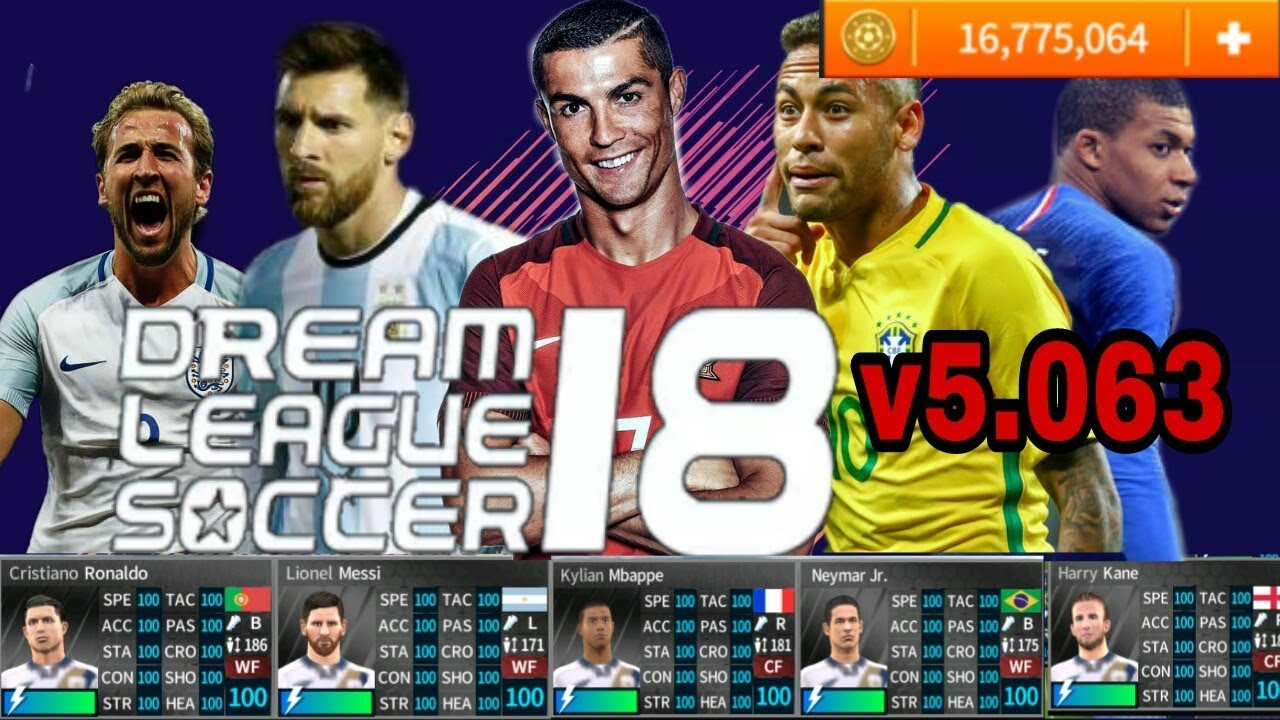 dream league soccer 2018 cheats apk