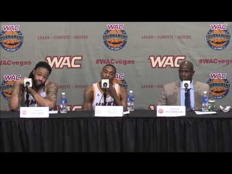 2015 WAC Basketball Tournament Men