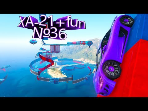 Видео обзор своей карты в GTA 5 Online: XA-21 + Fun №36