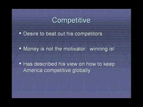 Mba 601 Bill Gates Leadership Profile Youtube