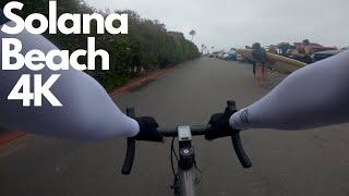 A Casual Solana Beach Bike Ride In [4K]