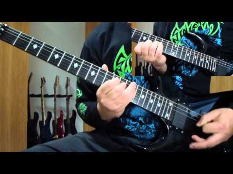 Pestilence - Out of the Body (guitar cover)