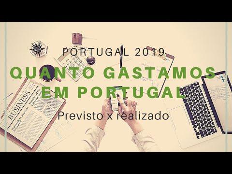 Custo de vida em Portugal 2019: orçamento x realizado