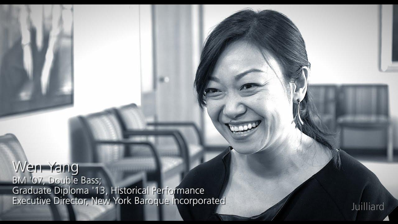 Juilliard Snapshot: Wen Yang