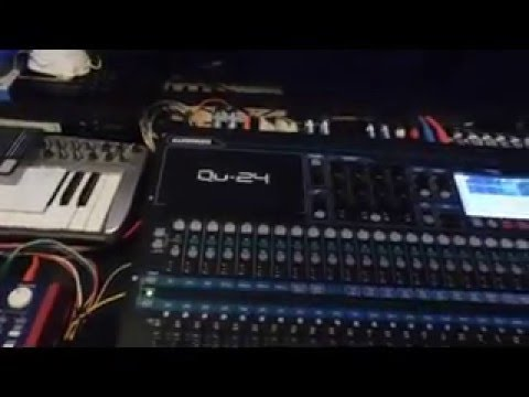 Setup Allen & Heath QU 16 24 32 Mixer DAW CONTROL on Windows Using Cubase 8.5