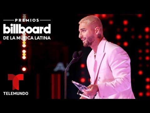 Maluma recibe el Premio Billboard Espíritu de la Esperanza | Premios Billboard 2020