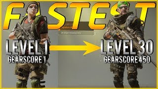 The Division 2 | Fastest Way from Level 1 to Max Gear Guide