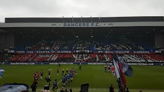 Rangers 2-0 St Mirren - Union Bears Display